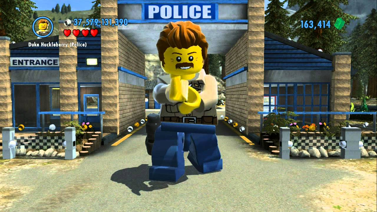lego city undercover how to catch aliens