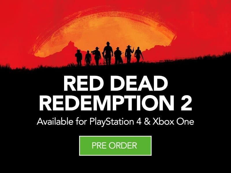Pre Order Red Dead Redemption 2 at Monster Shop