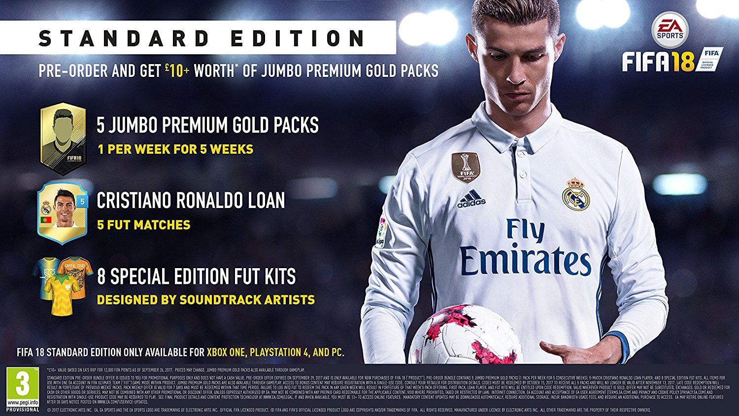 Pre Order Fifa 18 At Monster Shop For Playstation 4 Xbox One And Nintendo Switch