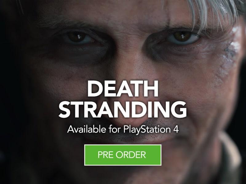 Pre Order Death Stranding for Playstation 4 at Monster Shop