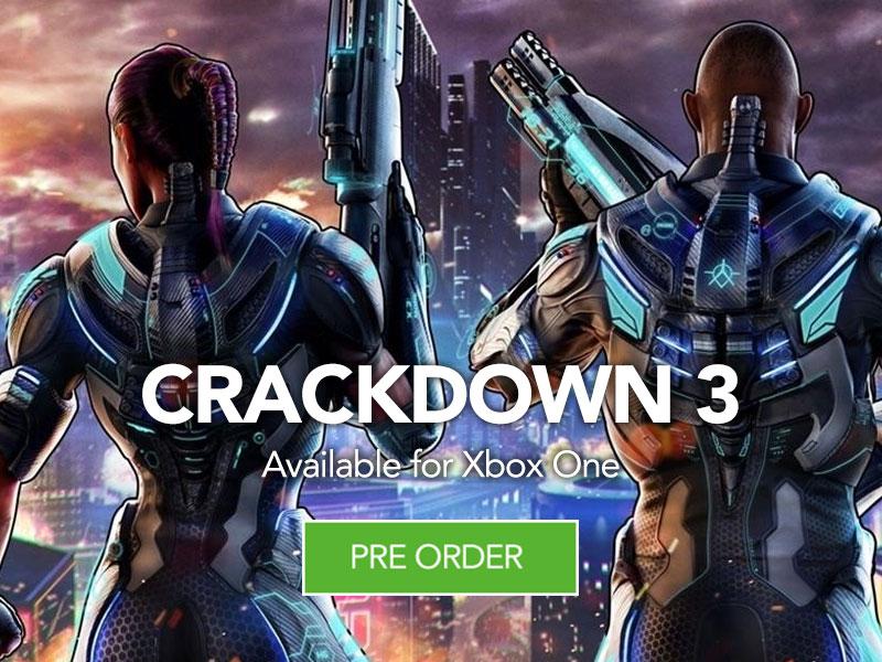 Preorder Crackdown 3 at Monster Shop