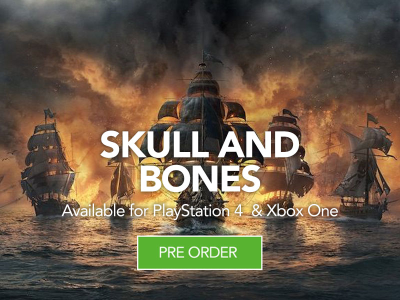Preorder Skull and Bones at Monster Shop