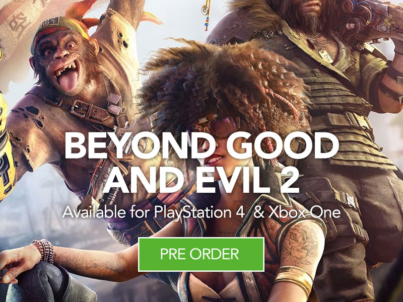 Preorder Beyond Good and Evil 2 at Monster Shop