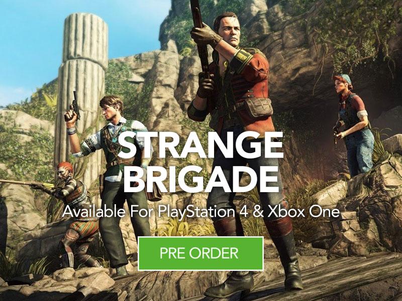 Strange Brigade coming soon to Monster Shop