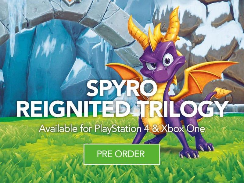 Pre Order Spyro at Monster Shop