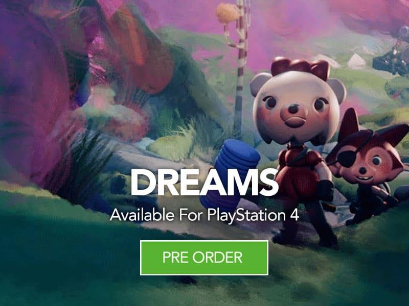Pre Order DREAMS at Monster Shop