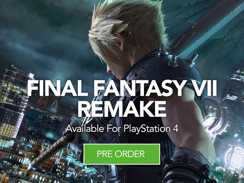 Pre Order Final Fantasy VII Remake at Monster Shop