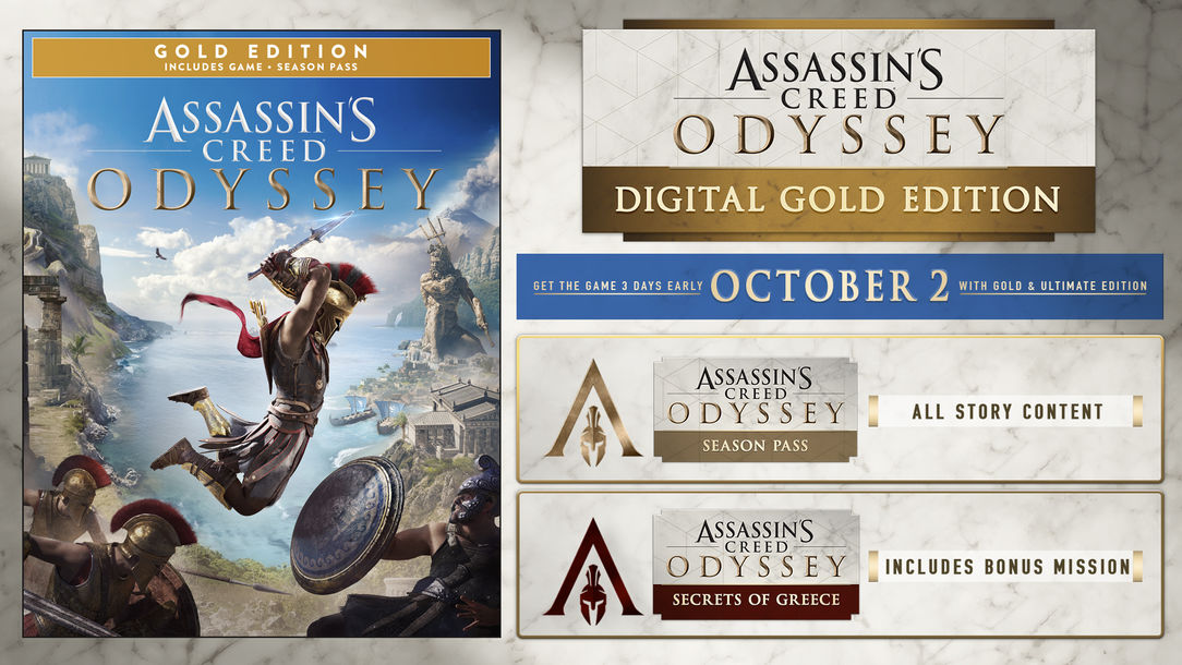 odyssey gold edition xbox one
