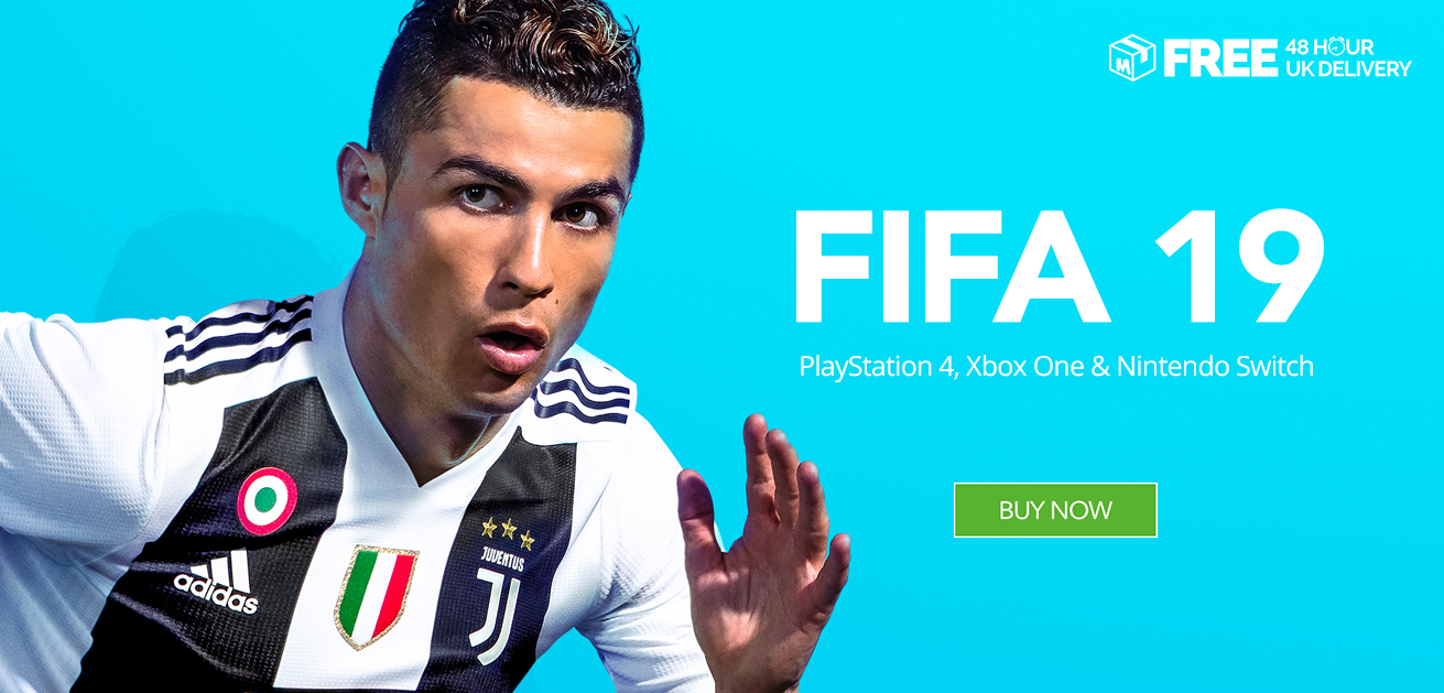 newest 32054 f239d Buy FIFA 19 at Monster Shop for PS4, Xbox One & PC | Free 48 ...