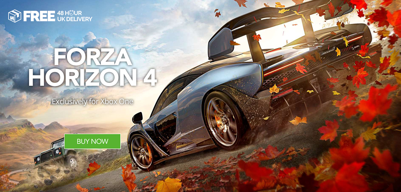 Buy Forza Horizon 4 at Monster Shop for Xbox One