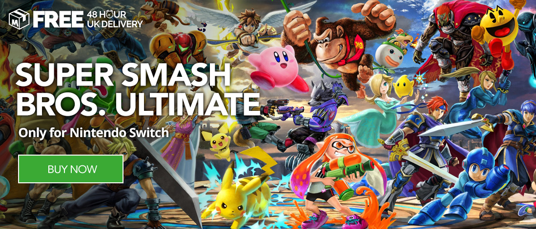 Buy Super Smash Bros. Ultimate at Monster Shop for Nintendo Switch